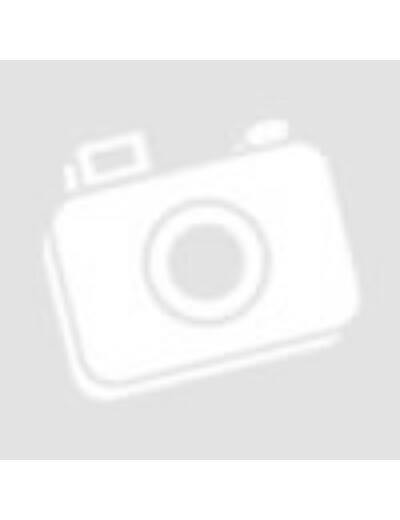 Plüss panda, ülő, nagy szemű, kék talppal, 22 cm
