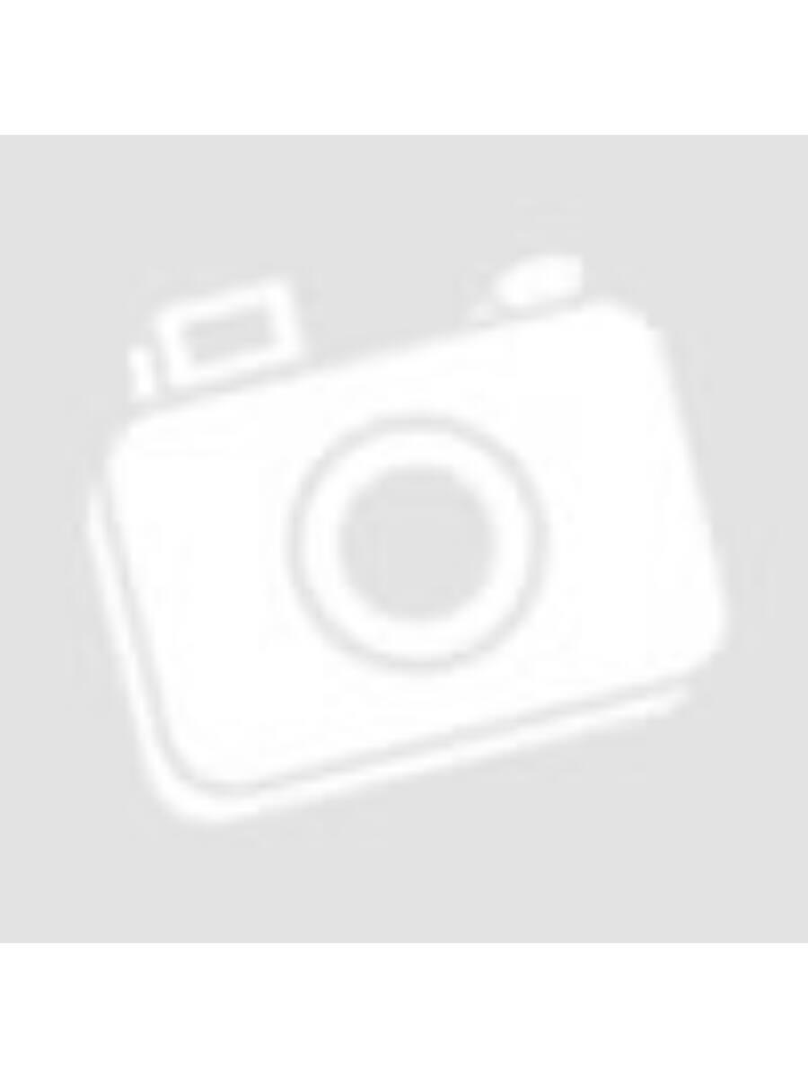 Hintó, kék, fehér lóval, Évi babához való méret, 38x19 cm dobozban